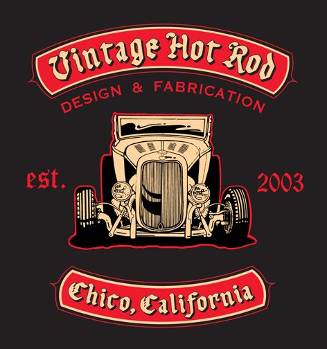 Vintage Hot Rod Design & Fabrication in Chico, CA.