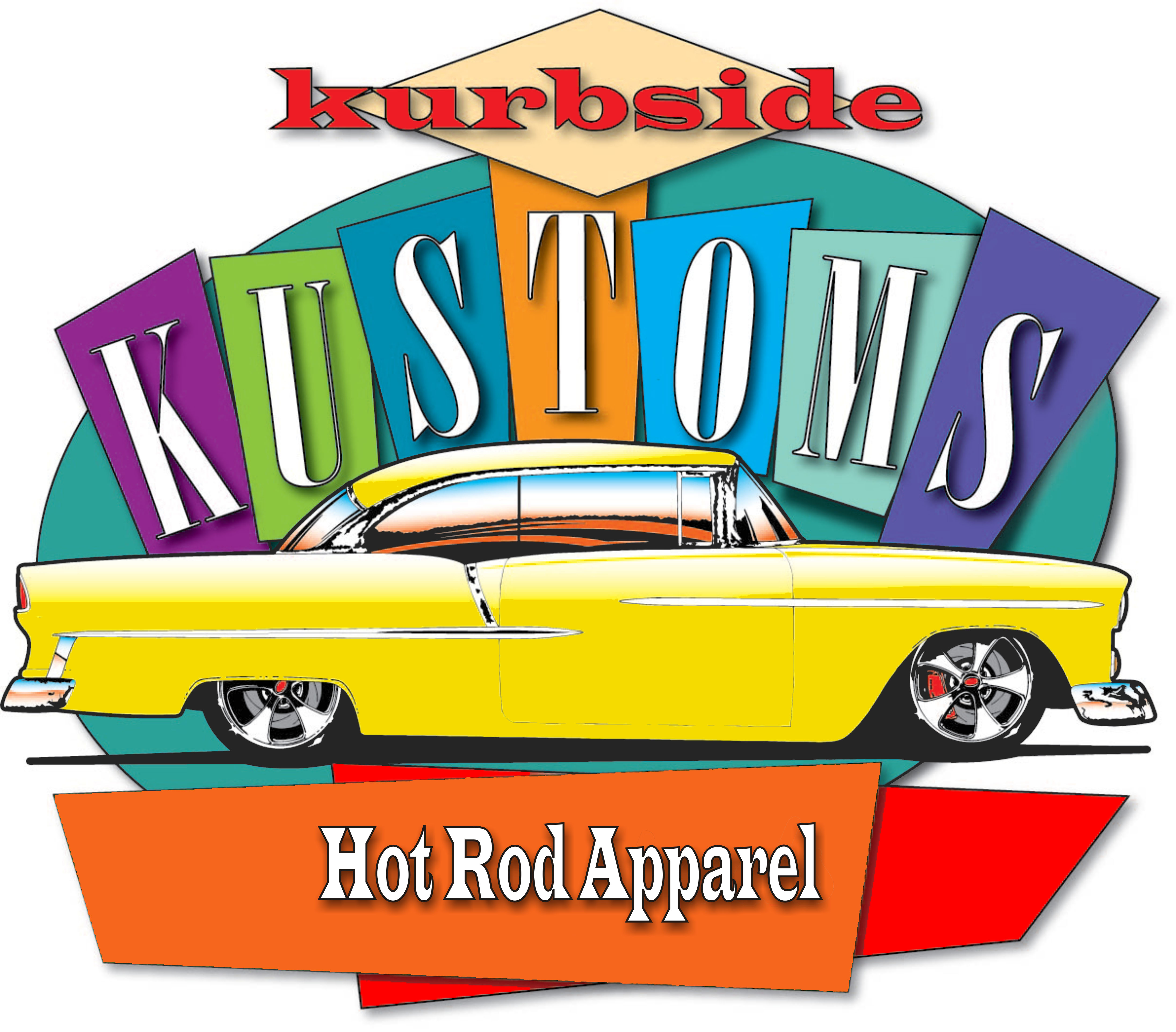 Kurbside Kustoms Hot Rod Apparel