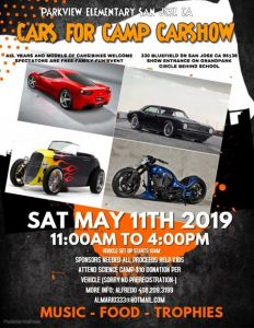 Cars For Camp Car Show