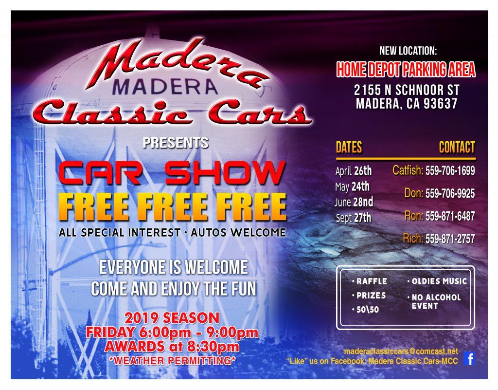 Madera Classic Car Show