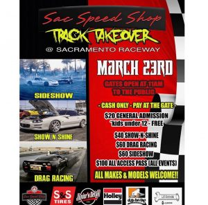 Sac Speed Shop Track Takeover