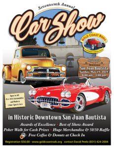 San Juan Bautista Car Show