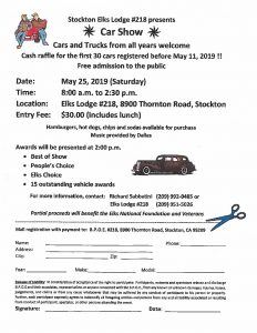 Stockton Elks Lodge Car Show