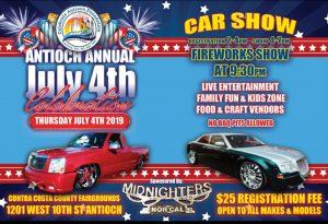 Antioch July 4th Car Show