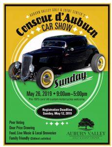 Consour d'Auburn Vintage Car Show