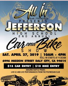Jefferson High School Car Show