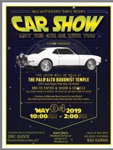 Palo Alto Buddhist Temple Car Show