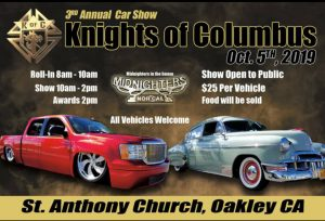 The 3rd Annual Knights of Columbus Car Show