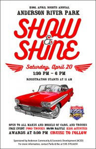 The Annual Anderson River Park Show & Shine