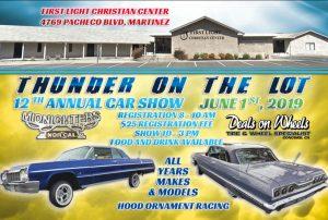 Thunder on the Lot Car Show