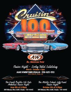 A&W Cruise Night Visalia