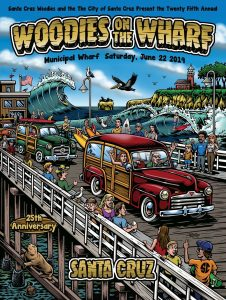 Woodies on the Wharf