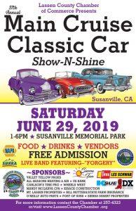 Main Cruise Classic Car Show-N-Shine