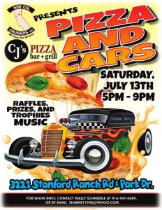Pizza and Cars