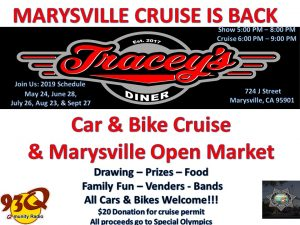 Traceys Diner Cruise Night