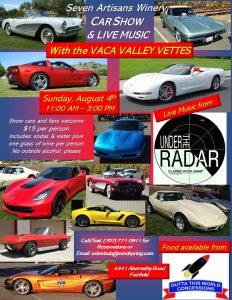 Vaca Valley Vettes Car Show