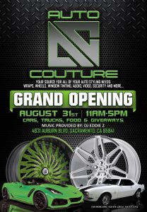 Auto Couture Grand Opening