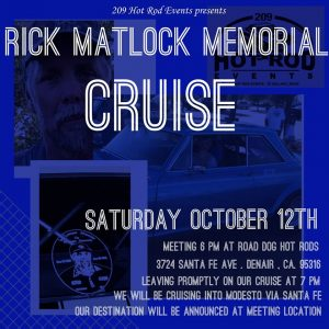 Rick Matlock Memorial Cruise