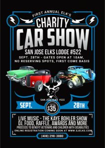 San Jose Elks Charity Car Show