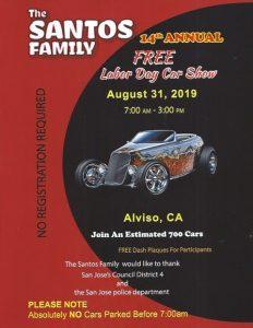 The 14th Annual Santos Family Car Show