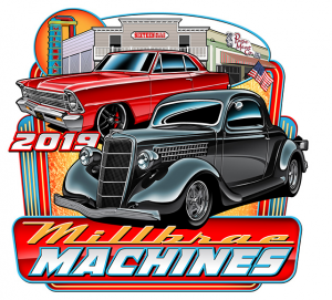 The 2019 Millbrae Machines Car Show