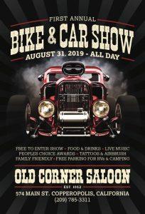 The First Annual Copperopolis Bike & Car Show
