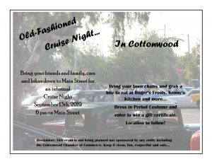Cottonwood Cruise Night