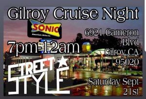 Gilroy Cruise Night