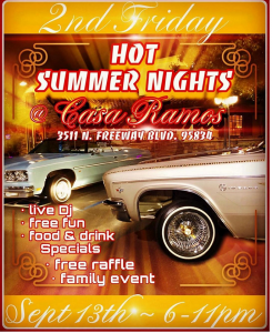 Hot Summer Nights at Casa Ramos