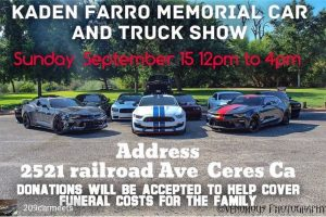 Kaden Farro Memorial Car and Truck Show