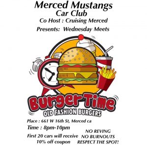 Merced Mustangs Wednesday Meet