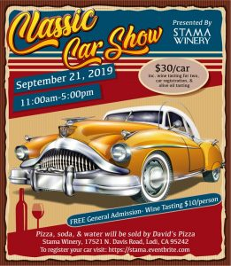 Stama Winery Classic Car Show