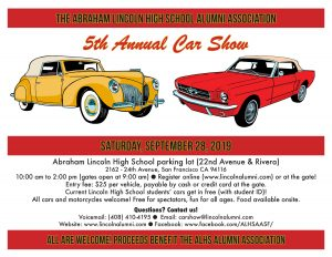 The 5th Annual Abraham Lincoln High School Car Show