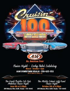Visalia A&W Cruise Night