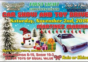 Martinez Car Show and Toy Drive