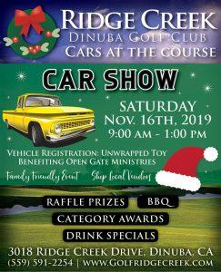 Ridge Creek Cars at the Course Car Show