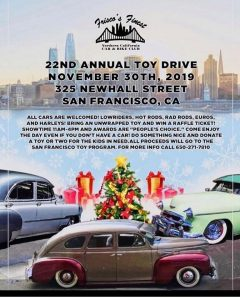 Frisco's Finest Car & Bike Club's 22nd Annual Toy Drive