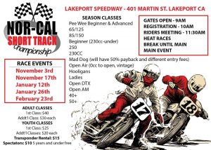 Nor-Cal Short Track Motorcycle Championship