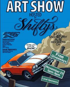 Shifty's Art Show