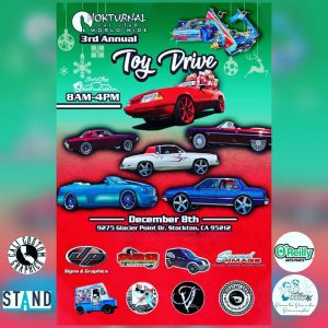 Nocturnal Car Club 3rd Annual Toy Drive