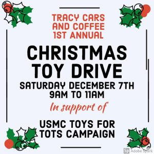Tracy Cars and Coffee Toy Drive