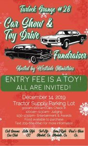 Turlock Grange Car Show & Toy Drive