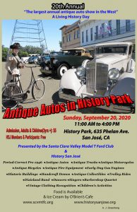 Antique Autos in History Park