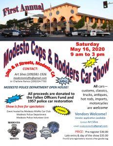 Modesto Cops & Rodders Car Show
