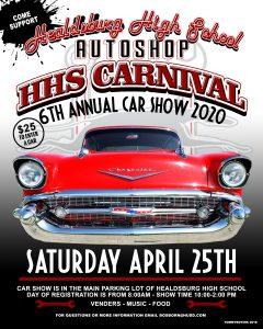 Healdsburg High Car Show