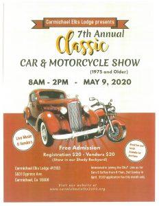 Carmichael Elks Car Show