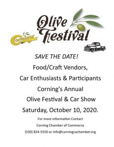 Corning Olive Festival & Car Show