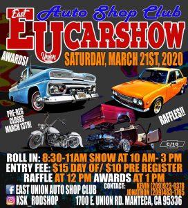 East Union Auto Shop Club Car Show