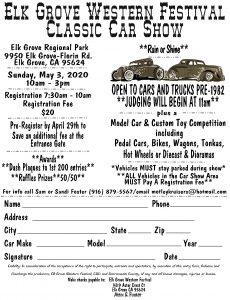 Elk Grove Classic Car Show
