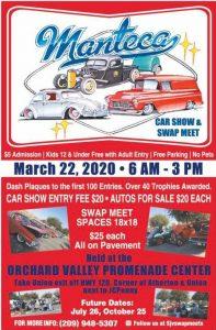 Manteca Car Show & Swap Meet